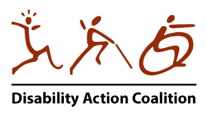 Logo for Disability Action Coalition.