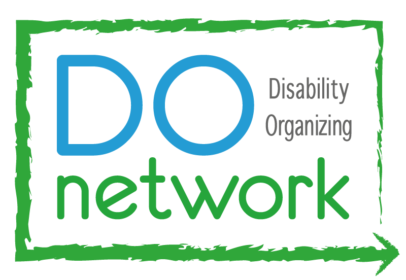 Logo for Disability Organizing Network.
