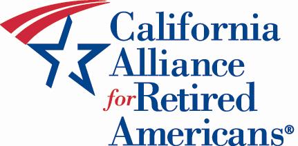 Logo for California Alliance for Retired Americans.