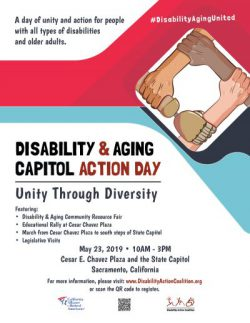 Preview of 2019 Capitol Action Day flyer.