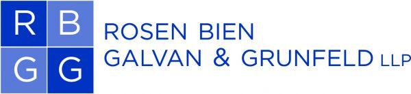 Logo for Rosen Bien Galvan & Grunfeld LLP.
