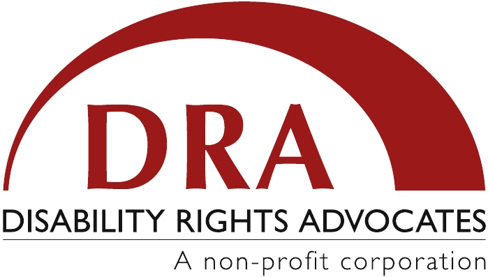 Logo for Disability Rights Advocates